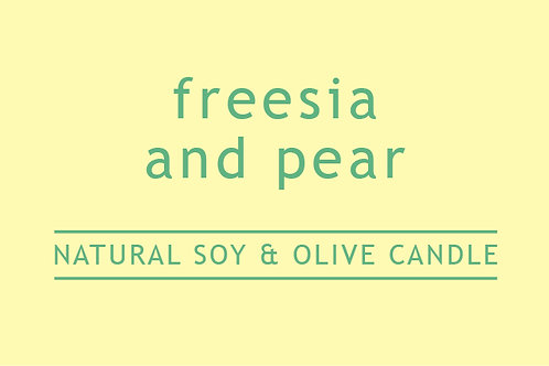 Freesia & Pear