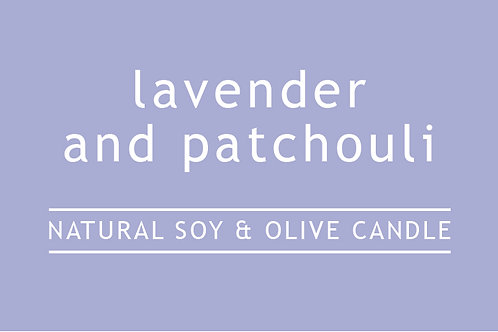 Lavender Patchouli Large Glass