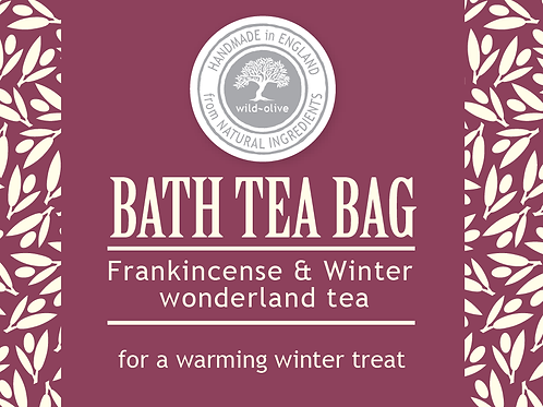 Frankincense and Winter Wonderland Tea bag