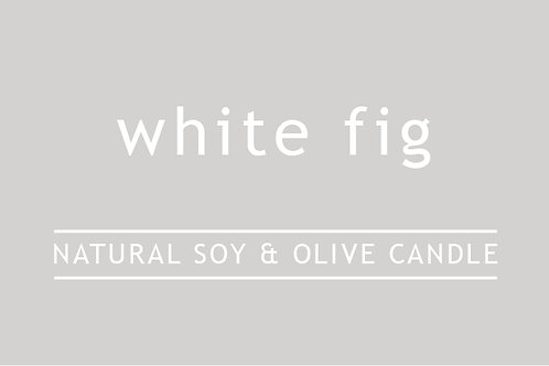 White Fig Small Glass