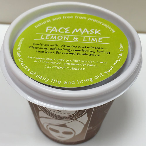 Lemon and Lime  Face Mask