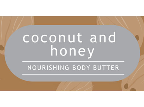 Coconut and Honey Body Butter TESTER
