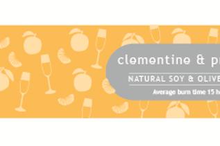 Clementine & Prosecco Dotty Tin