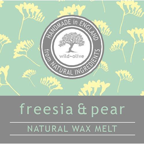 Freesia and Pear Wax Melt