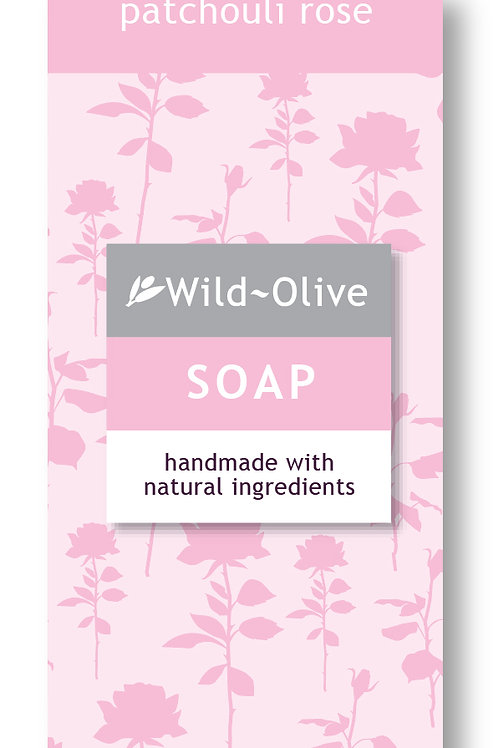 50G Patchouli Rose Soap