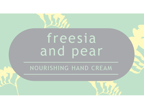 Freisa and Pear Hand Cream TESTER