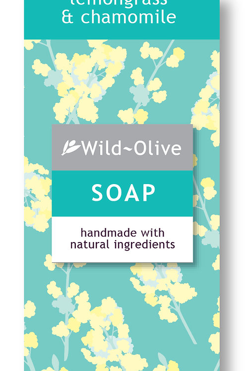 50g Lemongrass and Chamomile Soap