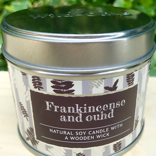 Frankincense and Oudh Candle