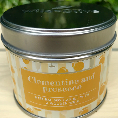 Clementine and Prosecco Candle