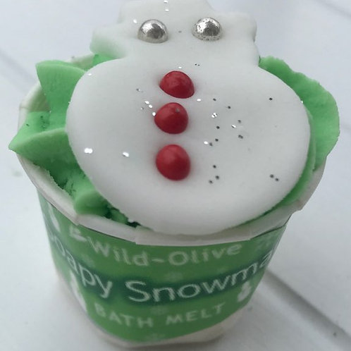 Soapy Snowman