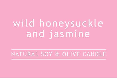 Honeysuckle and Jasmine Small Glass