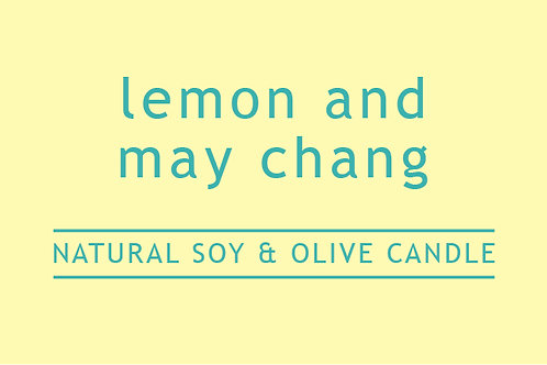 Lemon and Maychang Large Glass