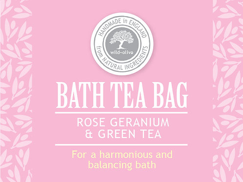 Rose Geranium and Green Tea