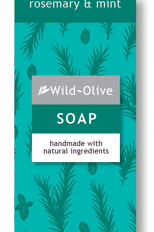 50G Rosemary and Mint Soap