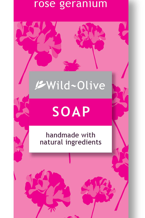 50G Rose Geranium Soap