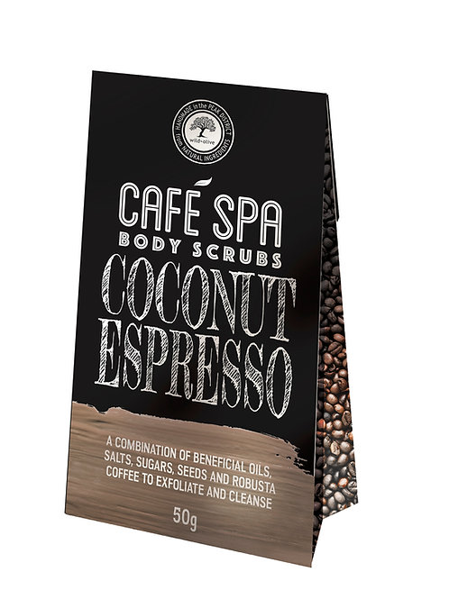 Coconut Espresso Scrub