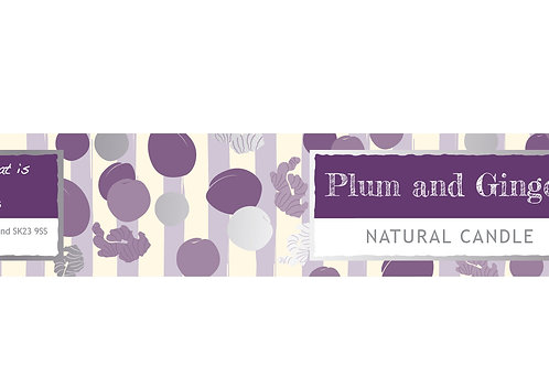 Plum and Ginger Small Dotty Tin