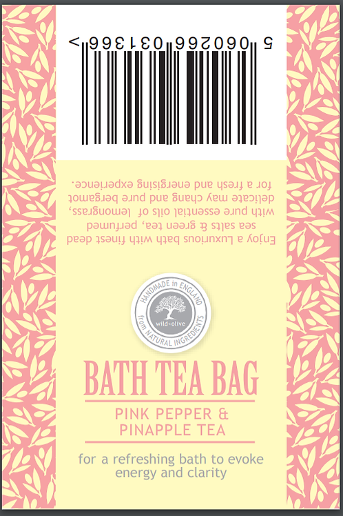 Pink Pepper and Pineapple Tea