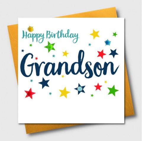POM HAPPY BIRTHDAY GRANDSON