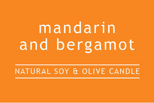Mandarin and Bergamot Small Glass