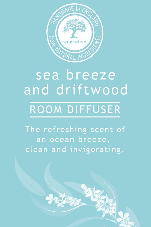 Sea Breeze and Driftwood Small Diffuser