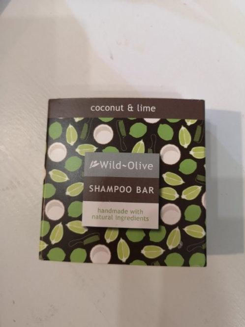 Coconut and Lime Shampoo Bar