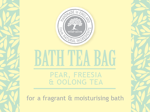 Freesia,Pear and Oolong Tea Bath Tea Bag