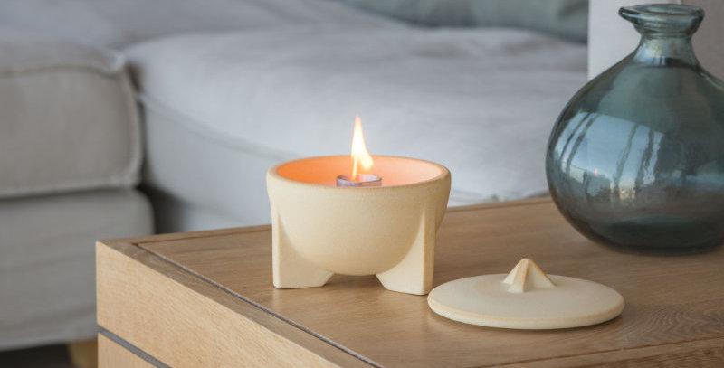 Waxburner Indoor CeraNatur + FREE Lid + FREE Hood