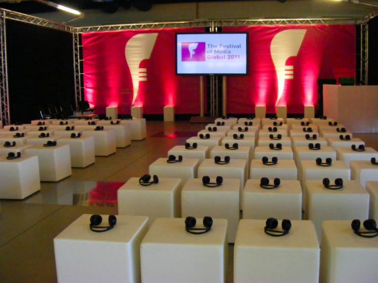 Silent Corporate Event