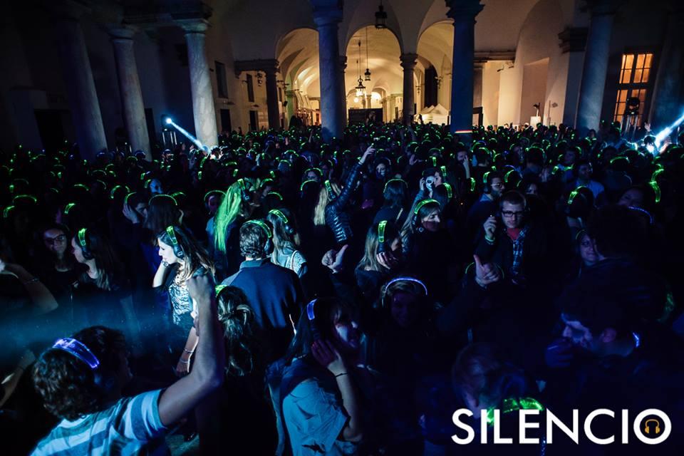 Silent Party Battle DJ