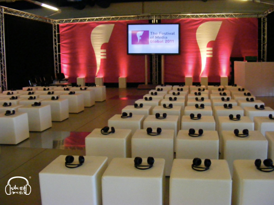 Silent Conference - MIse en place