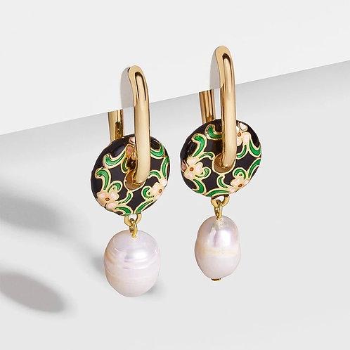 Green Light Earring