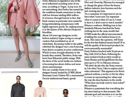 Rihhana Debuts Fenty Collection