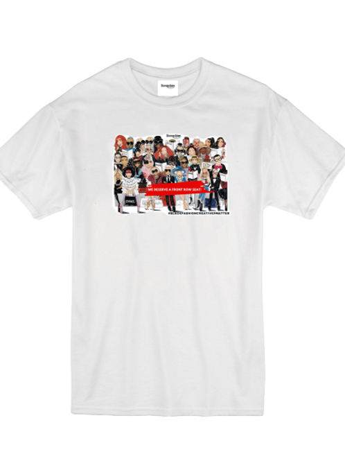 """Front Row Facts"" T-shirt"