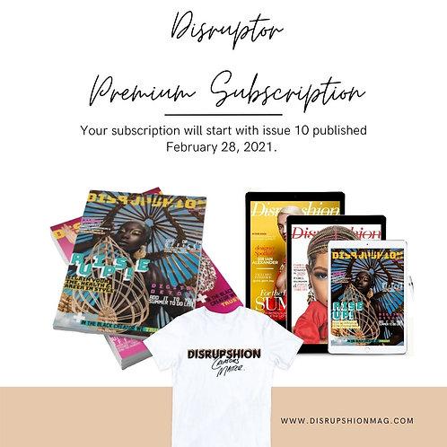 Disruptor Premium Subscription