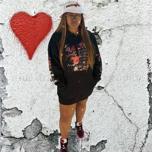 Graffiti Tears Hoodie