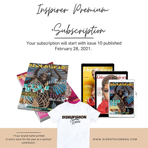 Inspirer Premium Subscription (Annually)