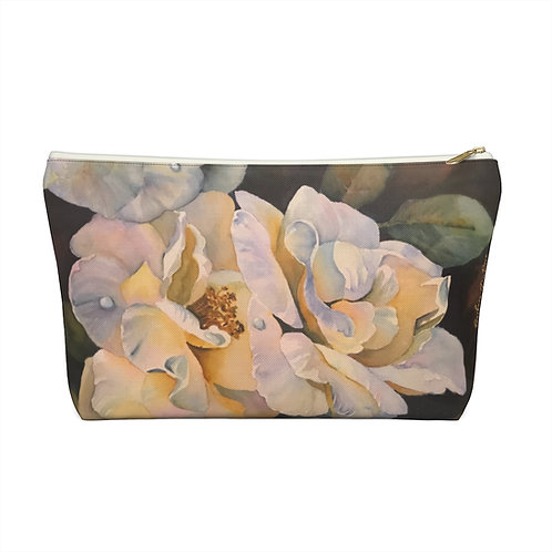 GARDENIA SMALL ACCESSORY BAG  with T-bottom. Available in 2 sizes.