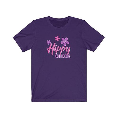 HIPPY CHICK Bella Canvas Soft Tee