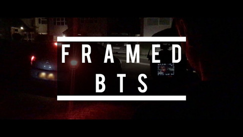 """Behind the Scenes of """"Framed""""   MY RØDE REEL - 2020"""