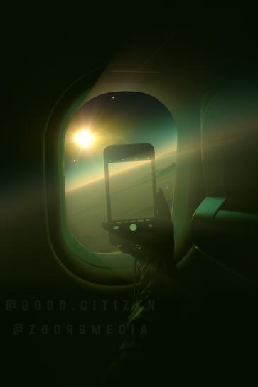 Plane Edit Green Vibes