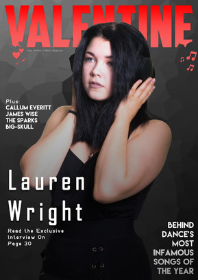 College Magazine Cover - 2019 (ft. Lauren Wright/@RaggdollClothing)