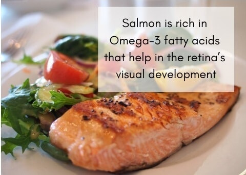 salmon for eye health
