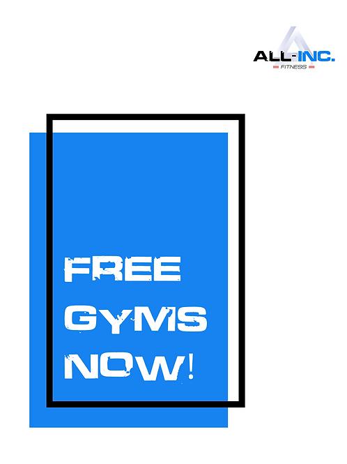 Free Gyms T-Shirt