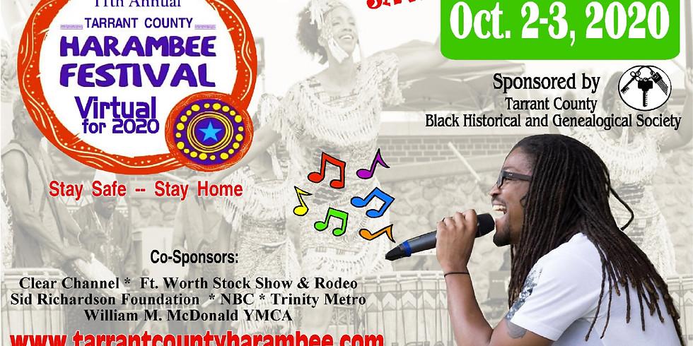 11th Annual Tarrant County Harambee Festival (Virtual)