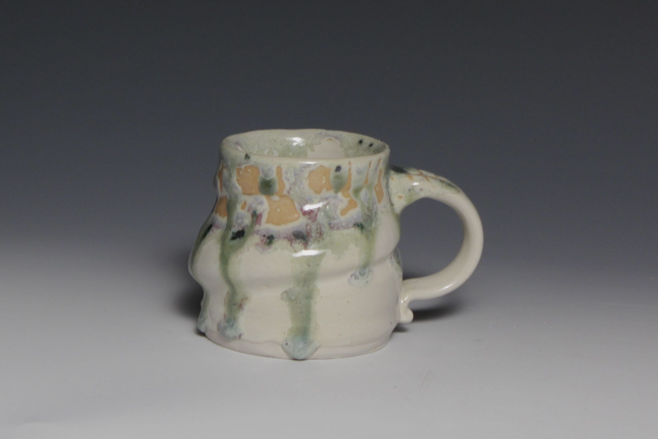 Purple/Green Glaze