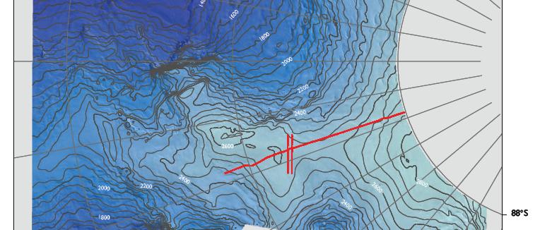 Hercules Dome, Digital Elevation Model