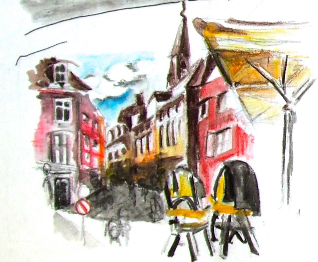 Cafe Chairs, Copenhagen