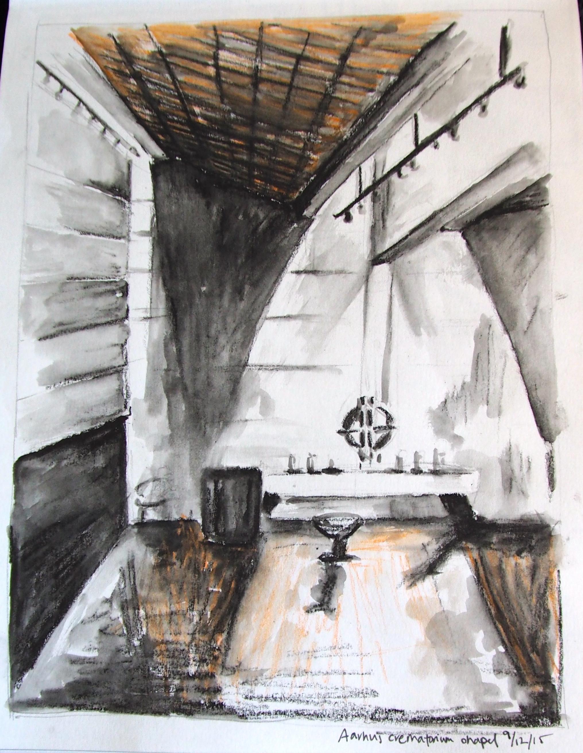 Crematorium Chapel, Aarhus DENMARK