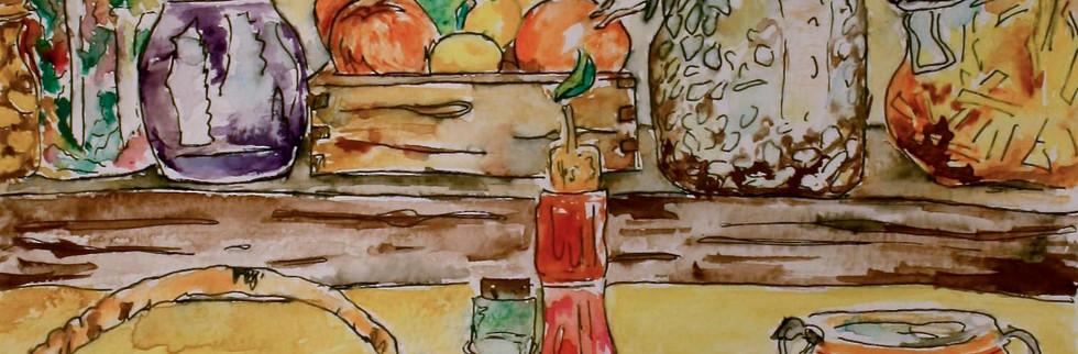 """11"""" x 14"""" watercolor"""